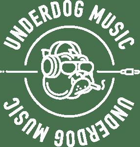 Underdog Music_logo_white